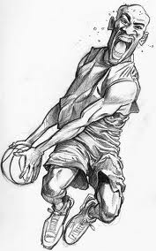 NBA Art | pixelated!Drawings Of Vince Carter