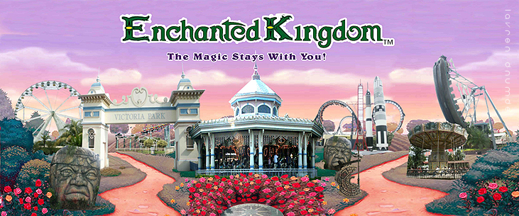 enchanted kingdom the magic stays here The magic stays: enchanted kingdom enchanted offers a bevy of adrenaline-pumping rides and a truly enchanting here you also get to meet ek's.