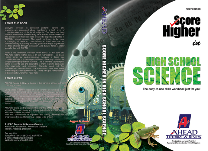 Science Book Cover Design Examples ~ Book cover design pixelated